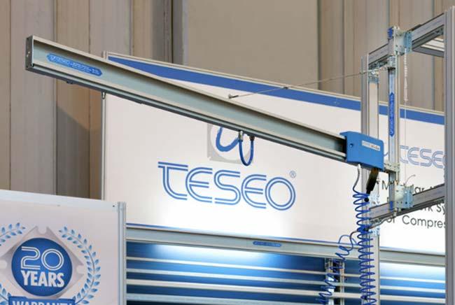 Teseo Druckluft Rohrleitungssysteme